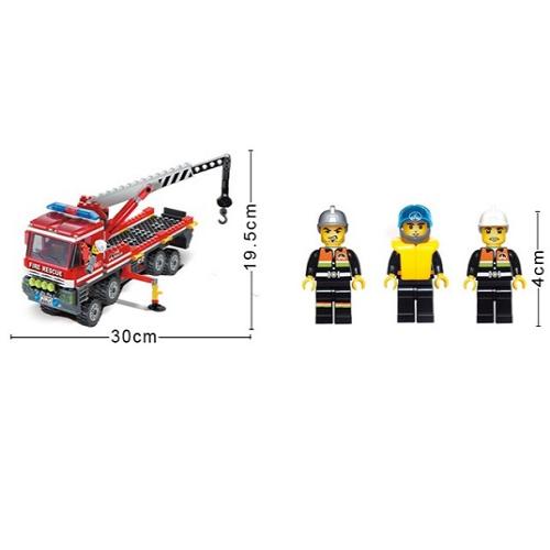 لگو آتش نشانی 420 قطه انلایتن Enlighten 907